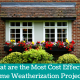 Home Weatherization Projects